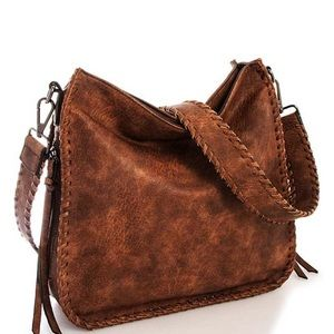 Brown Leather Carrier